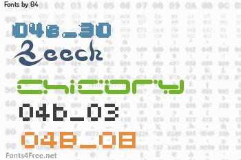 04 Fonts