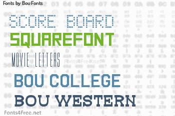 Bou Fonts Fonts
