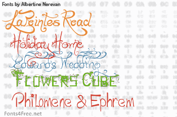 Albertine Nerevan Fonts