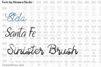 Almeera Studio Fonts