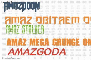 Amazingmax Fonts