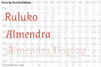 Ana Sanfelippo Fonts