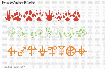 Andrew D. Taylor Fonts
