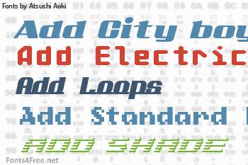 Atsushi Aoki Fonts