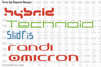 Beyond Design Fonts