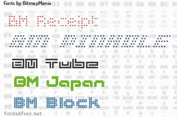 BitmapMania Fonts