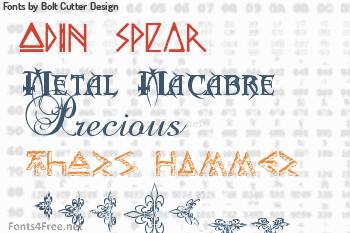 Bolt Cutter Design Fonts