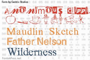 Centric Studios Fonts