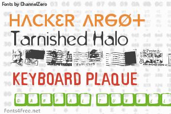 ChannelZero Fonts
