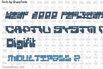 ChaosFonts Fonts