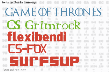 Charlie Samways Fonts