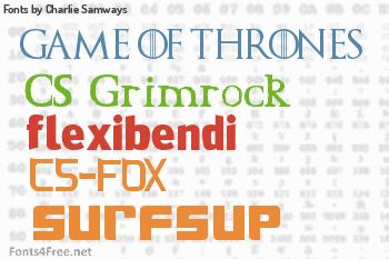 Charlie Samways Fonts