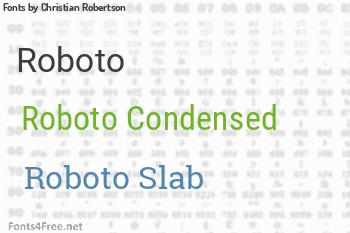Christian Robertson Fonts