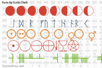 Curtis Clark Fonts