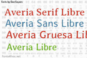 Dan Sayers Fonts