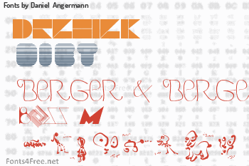 Daniel  Angermann Fonts