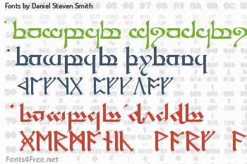 Daniel Steven Smith Fonts