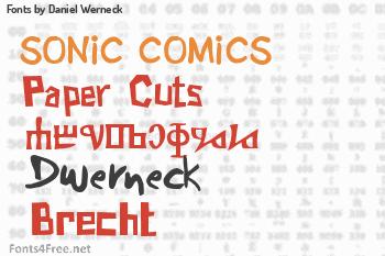 Daniel Werneck Fonts