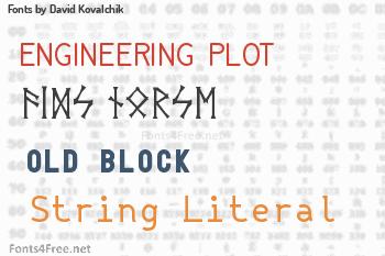 David Kovalchik Fonts
