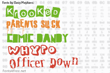 Davy Meykens Fonts