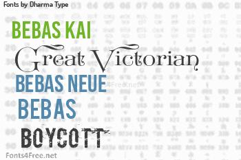 Dharma Type Fonts