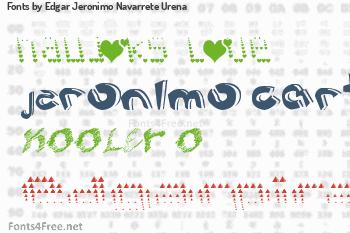 Edgar Jeronimo Navarrete Urena Fonts