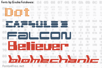 Eisuke Furukawa Fonts