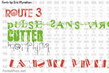 Eric Mynahan Fonts