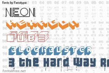 Fenotype Fonts