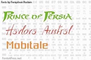 Fereydoun Rostam Fonts