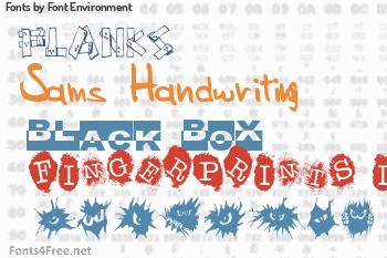 Font Environment Fonts