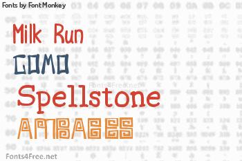 Font Monkey Fonts