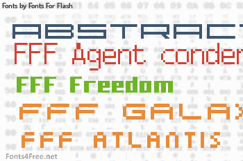 Fonts For Flash Fonts