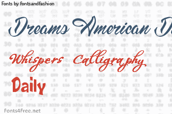 fontsandfashion Fonts