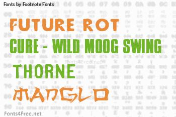 Footnote Fonts Fonts