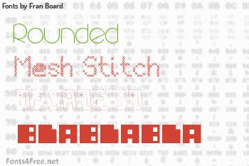 Fran Board Fonts