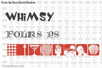 Gary David Bouton Fonts