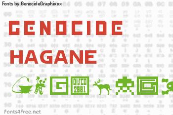 GenocideGraphixxx Fonts