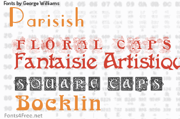 George Williams Fonts