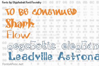 Glyphobet Font Foundry Fonts