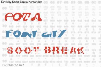 Gorka Garcia Hernandez Fonts