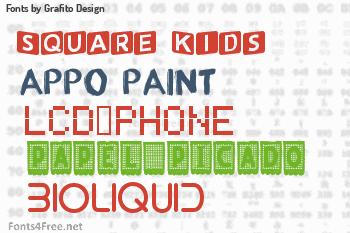 Grafito Design Fonts