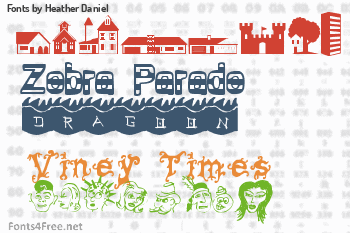 Heather Daniel Fonts