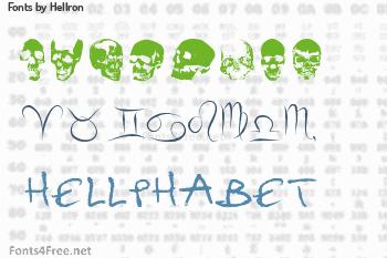 Hellron Fonts