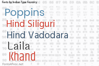 Indian Type Foundry Fonts