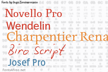 Ingo Zimmermann Fonts