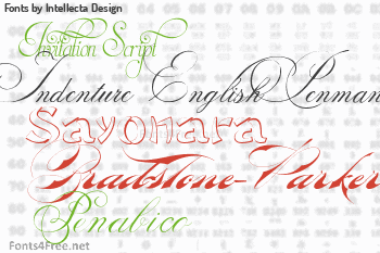 Intellecta Design Fonts