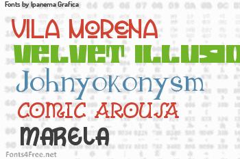Ipanema Grafica Fonts