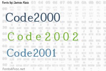 James Kass Fonts