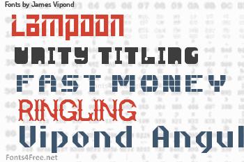 James Vipond Fonts